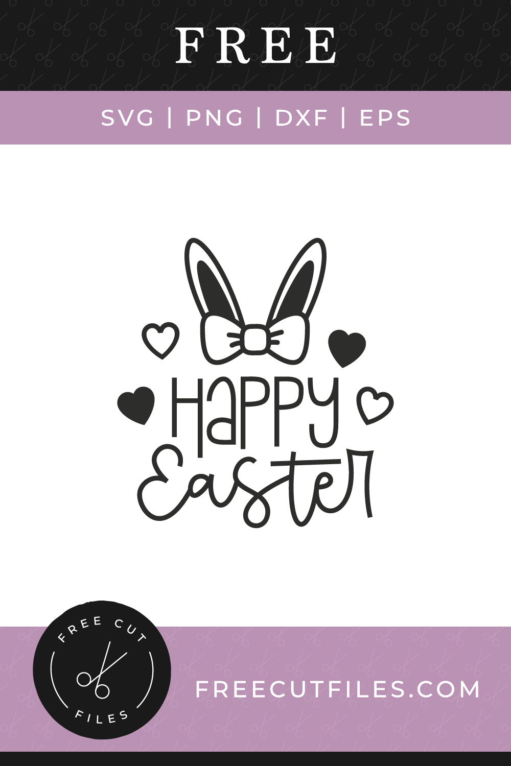 Free Happy Easter SVG