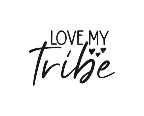 Love my tribe Free SVG cut file