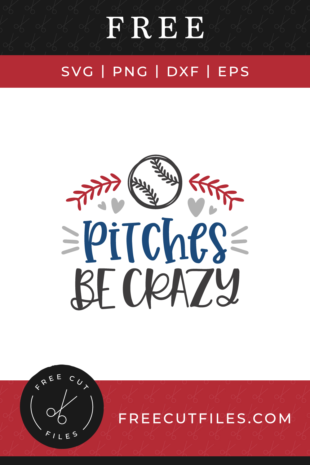 Free Pitches be crazy SVG