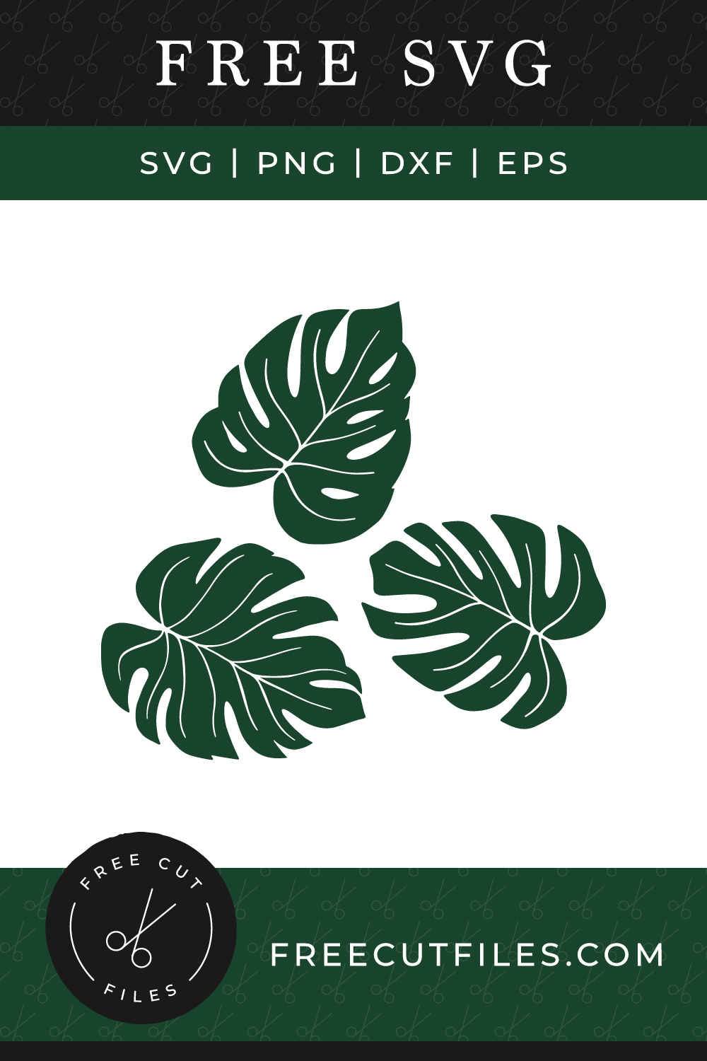 Free Tropical Leaves SVG